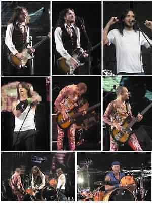 50 Red Hot Chili Peppers colour concert photos Coventry 2006