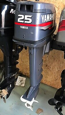 05 yamaha 30hp power trim oil injected 2 stroke outboard for Yamaha 25hp 2 stroke outboard