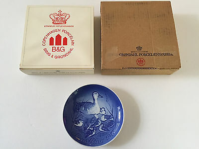 """1973 Bing & Grondahl """"Duck & Duckings"""" Mother's Day Collector Plate"""