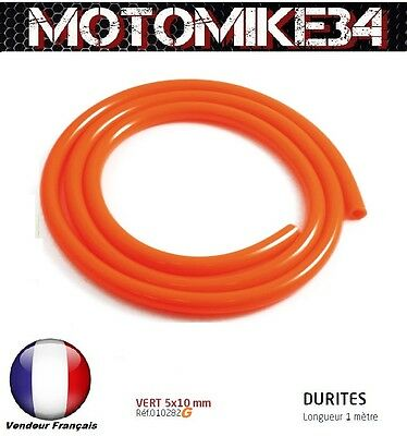 DURITE ESSENCE 5X10mm MOTO / SCOOTER / CROSS  NEUF / COULEUR ORANGE /