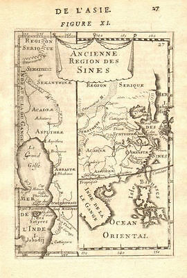 ANCIENT CHINA. Pearl River Delta HK Guangzhou Shenzen. Philippines 1683 map