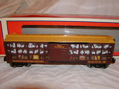 Lionel 6-25962 Thanksgiving Non-operating Poultry Train Car 2013 MIB O 027 New