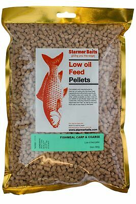 Fishmeal feed pellets for carp and coarse 5mm