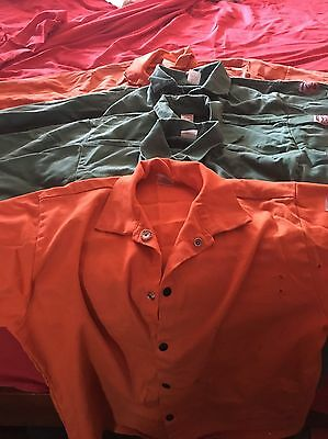 "1-Revco Black Stallion F930C 30""long 9oz OR TILLMAN Gently USED WELDING JACKETS"