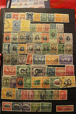 Ecuador Large Old Time Collection Of Mint & Used Stamps ~Many Better~~1872-1982