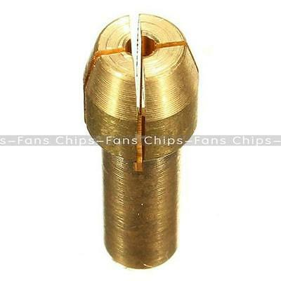 4PCS Rotary Multi Tool Collet Nut Kit for Mill 0.8/ 1.6/ 2.35/ 3.2MM