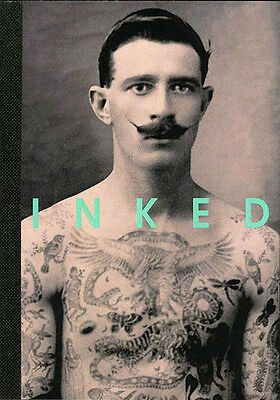 Inked postcard book of vintage tattoo photographs, Prismatic Pictures. 2014