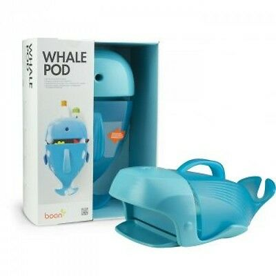 Boon B407 Boon Whale Pod Bath Toy Scoop Wall Fixable With Screws Or Suckers New