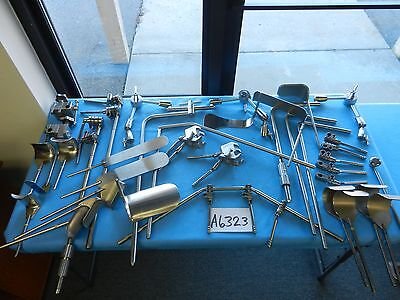 Omni-tract Surgical Table Mounted Retractor Set