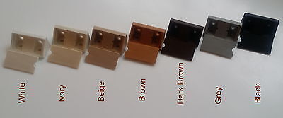 MODESTY BLOCK KITCHEN CABINET CUPBOARD FIXING JOINT CONNECTOR BLOCKS Pack of 50