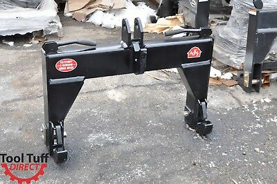 3-Point Quick Hitch Category 3 NARROW Farm Tractor Implement SHIP TO BIZ ADDRESS