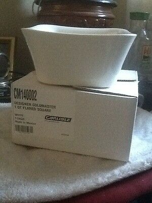 (4) Coldmaster by Carlisle CM14002 this is a 1qt great to keep food gold for the