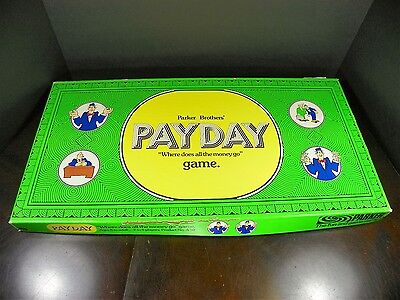 Vintage PayDay By Parker Bros 1974 Edition *Complete*