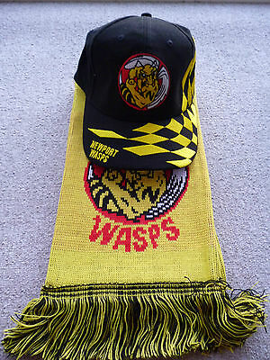 Newport Wasps Speedway Cap and Newport Wasps Scarf