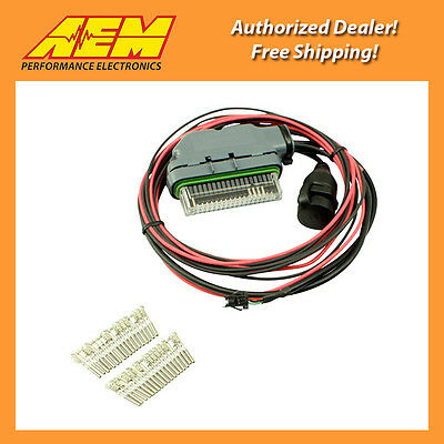 AEM EMS-4 Mini Harness. Pre-wired for Power Ground CAN USB Coms 30-2905-0