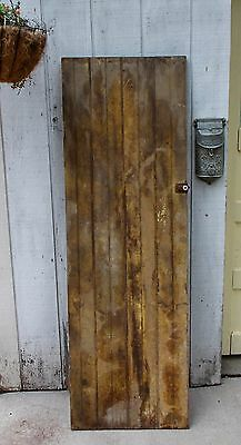 Vintage WOOD BARN DOOR wooden antique architectural salvage farm house old #1