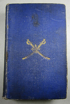 1866 Merrill Campaigns First Maine and First DC Cavalry Civil War History Book