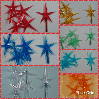 MEDIUM Star for CERAMIC CHRISTMAS Tree. Pick from 7 colors