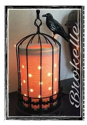 Scentsy   NEVERMORE  WARMER  -WRAP ONLY-  NEW IN BOX   HALLOWEEN RARE