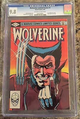 WOLVERINE #1 CGC 9.8  CANADA SELLER 1st solo Wolverine comic
