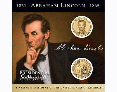 New-Coins Of America-Mpi Coin-The Presidential Collection- Abraham Lincoln $1