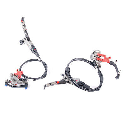 Avid XX MTB Disc Brake Set 1500/800mm Carbon Levers Silver