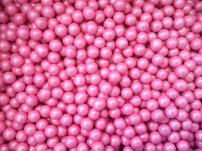 Sixlets Decorator Shimmer Pink 750g - Candy Buffet Weddings Favour Lollies