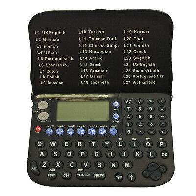 Electronic Collins Multi 27 Language Translator/Personal Planner/Calculator