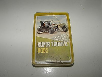 Vintage Super Trumps Rods Complete Set