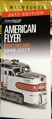 (No 2018 Editions Made)..2017 Mint! American Flyer Price Guide..greenberg's..c13
