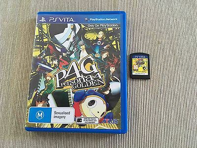 Persona 4 Golden (Sony PlayStation Vita, 2013) AUS PAL