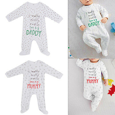 Newborn Baby Rompers Set Cotton Long Sleeve Printing Capital Jumpsuit Clothes