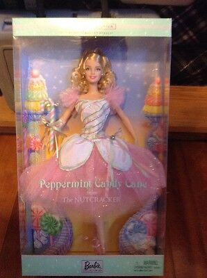 2002 Barbie Pepermint Candy Cane From The Nut Cracker Classic Ballet Series