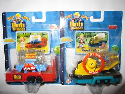 TAKE ALONG BOB THE BUILDER WATER TANKER and READY MIXER