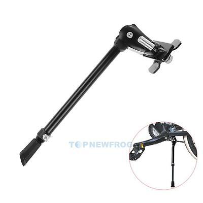 """Heavy Duty Bike Cycling Kick Stand Rubber Foot Frame Fit for 16"""" 27"""" Adjustable"""