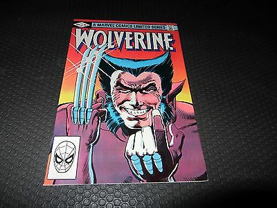 Wolverine 1 VF/NM 9.0 Limited Series (Marvel 1982) Combine Shipping