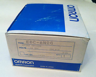 Omron E6C-AN2G Rotary Encoder (Absolute) New in Box