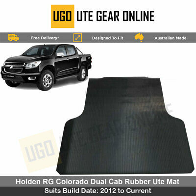 Holden Colorado RG Dual Cab 2012 to Current  Rubber Ute Mat