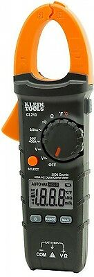Multimeter Voltage Current Digital Clamp Klein Tools 400 Amp AC Auto-Ranging DIY