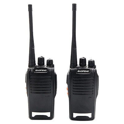 2 * BaoFeng 777S UHF 400-520MHz 16CH Two-way Radio Hand-funkgerät Amateurfunk
