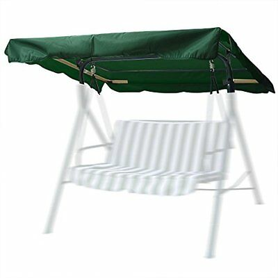 "75""X52"" Outdoor Swing Canopy Replacement Porch Top Cover Park Seat Furniture Pat"