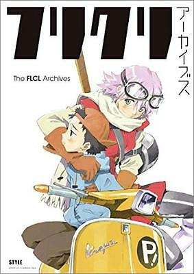 The FLCL Archives Illustrations Design Works Art Book GAINAX Anime Japan New