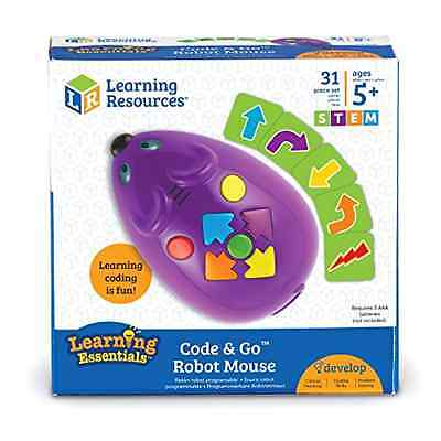Code And Go Robot Mouse Learning Resources Educational Toys Push Button Control