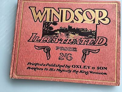 Retro/vintage - Windsor Illustrated Price 2/6 - Hard Cover Book - Royal Family