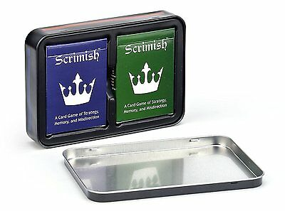 Scrimish Tin Carrying Case No Decks Included