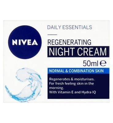 Nivea Daily Essentials Regenerating Night Cream Normal & Combination Skin 50ml