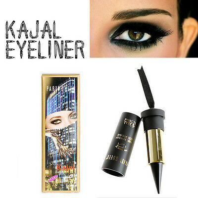 Crayon Gel Khol Kajal Eyeliner Noir Retractable Waterproof Ultra Tenue Naturel