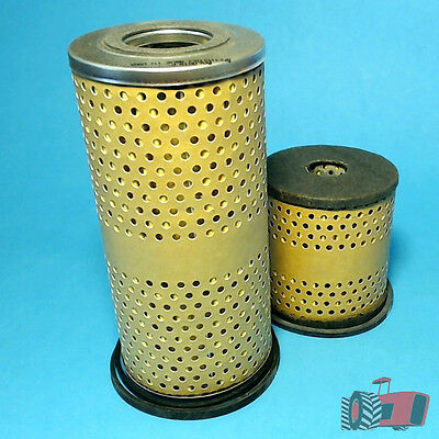 FLK2302 Oil Fuel Filter Kit Chamberlain 9G Tractor w Perkins 4-270D Engine Late