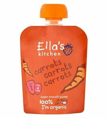 Ella'S Kitchen Carrots Carrots Carrots Stage 1 From 4 Months 70G