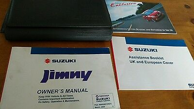 Suzuki Jimny Owners Manual- Handbook. Wallet 2004